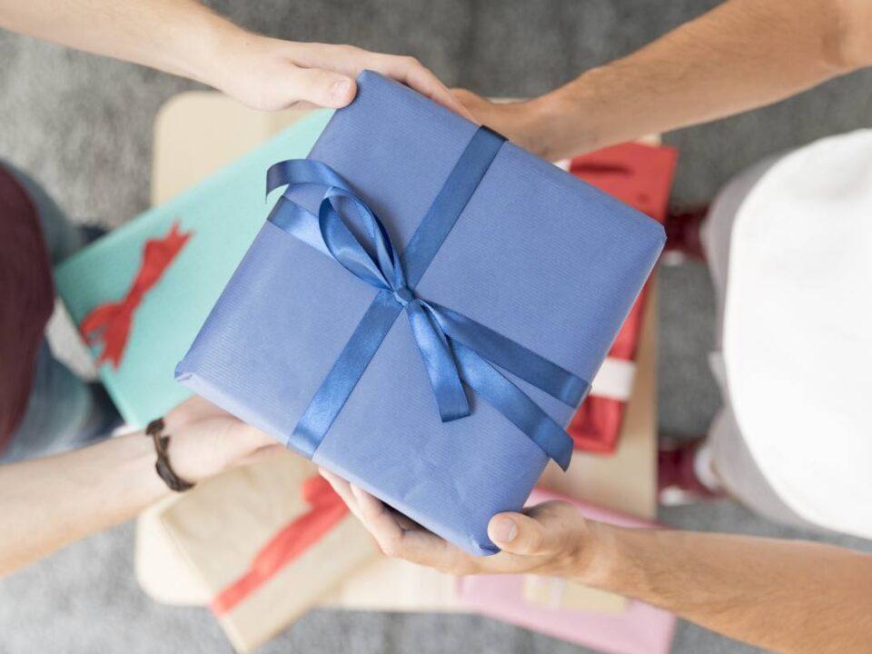 Reciclar regalos de Navidad